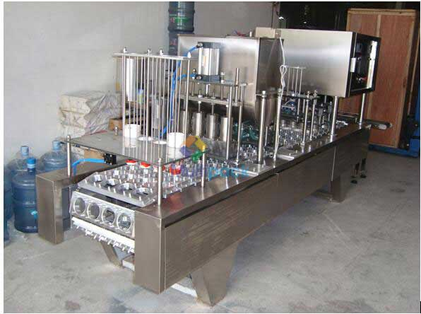 Cosmetic Cream Cup Filling Sealing Machines