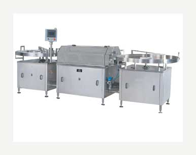 Automatic External Vial Washing Machine    Manufacturers & Exporters from India