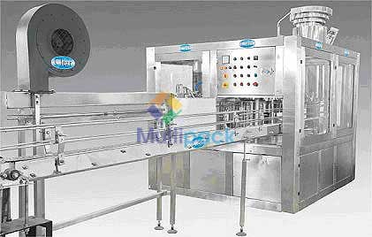 Automatic Rotary Rinsing, Filling and Capping Machine