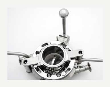 Split Butterfly Valves