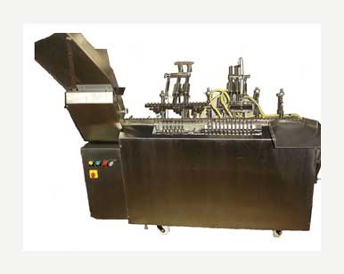 Six Head Ampoule Filling Sealing Machine