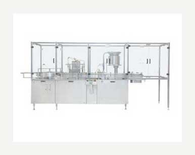 Vial Filling and Plugging Machine    Manufacturers & Exporters from India