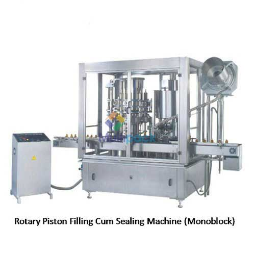 Automatic Rotary Piston Filling Cum Ropp Sealing Machine