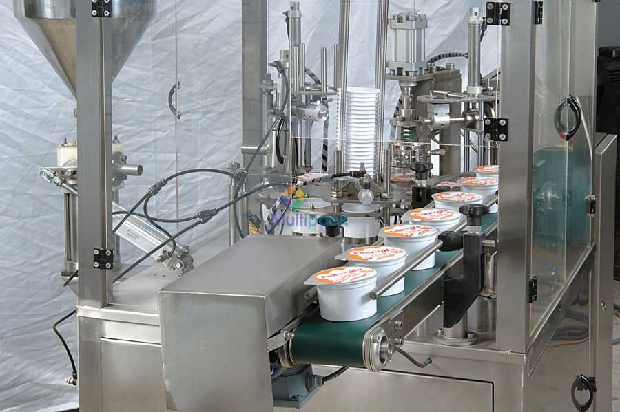 Beans Cup Filling Sealing Machine