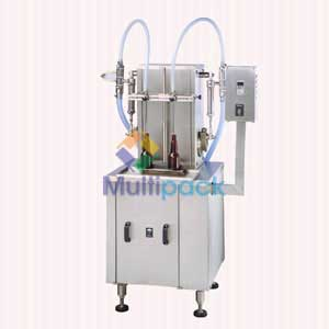 Semi Automatic Two Head Liquid Filling Machine