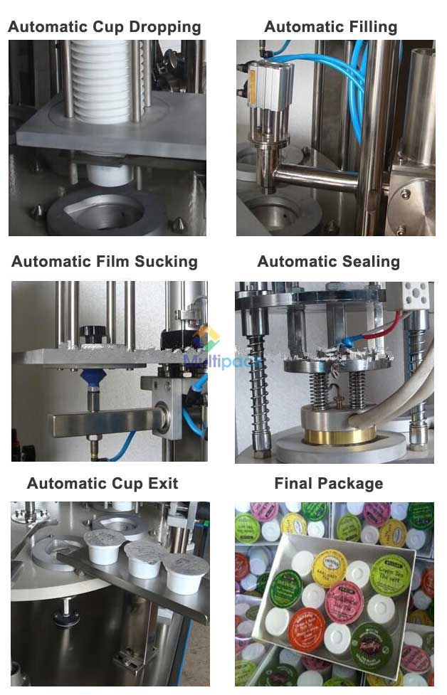 Yogurt Curd Linear Cup Filling And Sealing Machine Manufacturers, Exporters