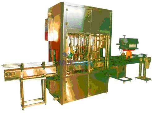 Automatic Volufill Oil Filling Machine