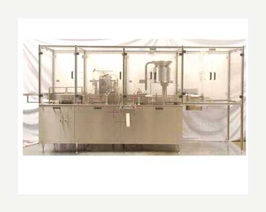 Vial Filling And Sealing Machine